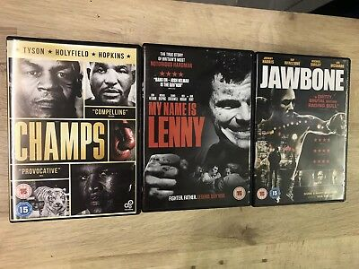 3 X Boxing Dvds