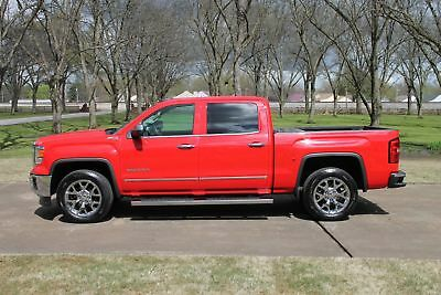 GMC Sierra 1500 SLT Crew Cab Z71 Crew Cab Z71 Bi-Fuel CNG One Owner Perfect Carfax BiFuel Compressed Natural Gas System Michelin Tires