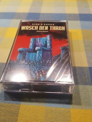 King Kool Savas KKS Sido Wasch den Thron Mixtape Tape Deutschrap MC Kassette Neu