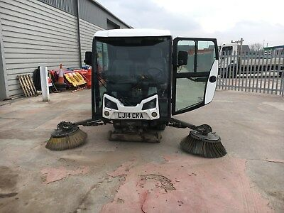 Johnston Cx201 Compact Road Sweeper  Year 2014
