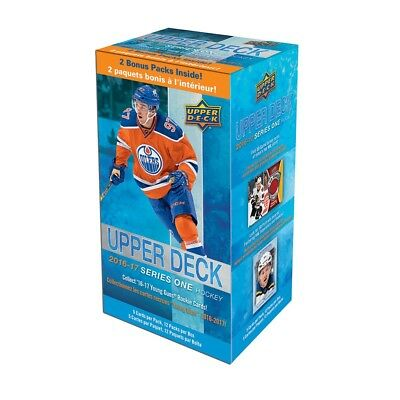 2016/17 Upper Deck Series 1 Hockey Blaster 12 Pack Box Sealed Matthews RC??