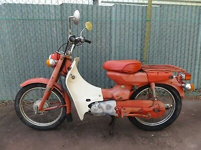 Classic Yamaha V90-P Postie Scooter Running For Resto - Ct110 Vespa - Sa Pick Up