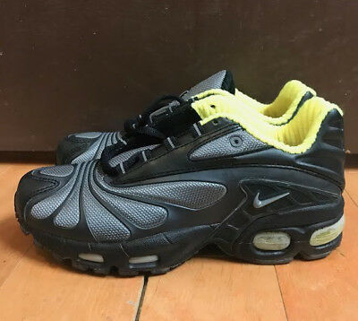 watch 8c56c ee500 Vintage Nike Air Max Tailwind 5 Black Volt 2001 Kids Gs Sz 4.5 Y 609104-