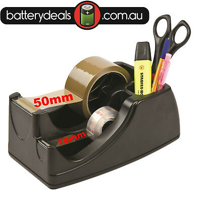 CELCO 2 IN 1 HEAVY DUTY TAPE DISPENSER 50mm -19mm packaging  holder 48mm stand