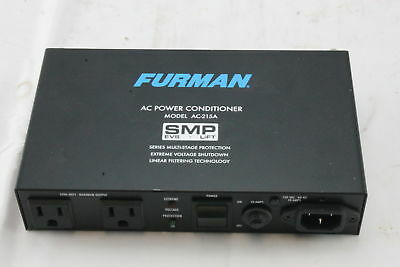 Furman AC Power Conditioner AC-215A Surge Protection Device