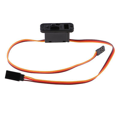 MagiDeal RC Servo Connector JR Switch Harness with Charging Lead RC Car Part