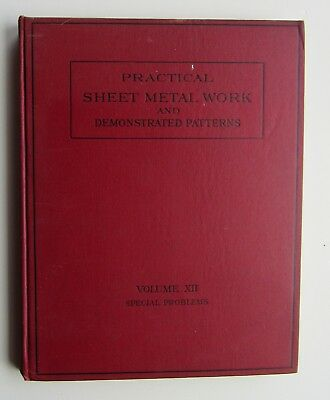 Practical Sheet Metal Work &  Demonstrated Patterns Vol XII Special Problems c12