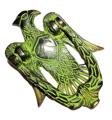 Eagle Shape Antique Vintage Style Handmade Brass Door Knocker Knob Home Decor