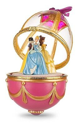 AUTHENTIC DISNEY Disney Princess Musical & Movement Ornament with Stand NIB
