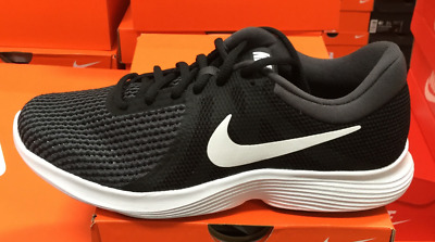 980822036db5 NIKE Revolution 4 Women Running Training Casual Shoes Black White 908999 001  KSS