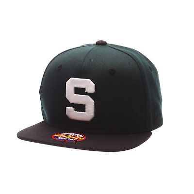 40bddb39481 Michigan State Spartans Official NCAA Z11 Youth Adjustable Hat Cap by Zephyr