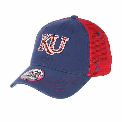 premium selection 82022 44239 Kansas Jayhawks Official NCAA Glimmer Adjustable Hat Cap by Zephyr 643372
