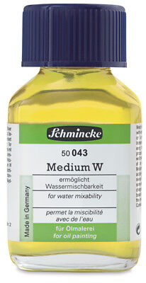 Schmincke Medium W -  Water Mixable Medium 60ml