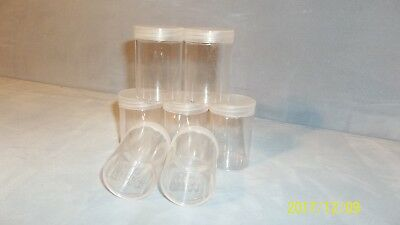 NEW--THREE (3)--Anco Round Coin Tubes for Large Dollars