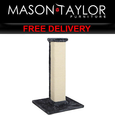 Mason Taylor 92cm Cat Scratching Post - Blue & Beige PET-CAT-PO-L-GR-AB