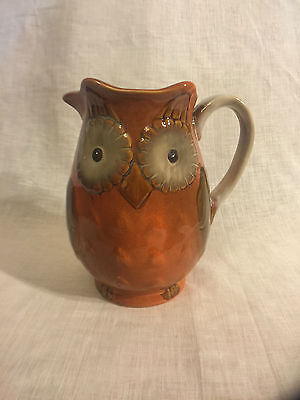 OWL JUG (Orange)