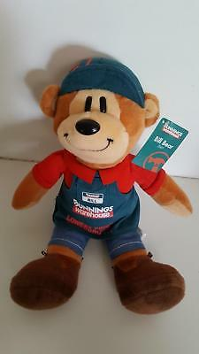 Bunnings Warehouse BILL BEAR 2007 inaugural toy *mint with tag *