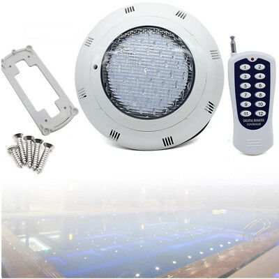 12V 45W 7 Colors RGB LED Swimming Pool Light Lamp Underwater & Remote 1.5m Cord