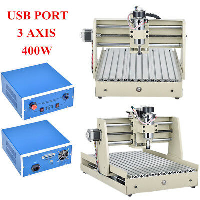 Usb 3040T 400W Usb Cnc Router Engraver Engraving Cutter Milling Machine 3 Axis