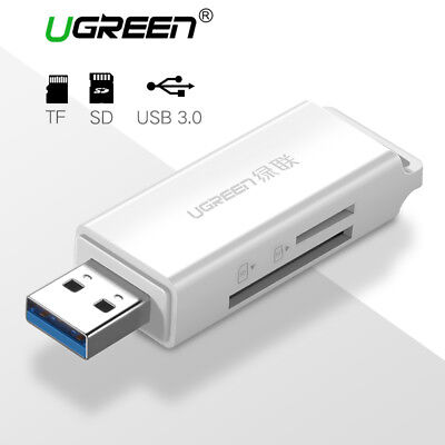 Ugreen USB 3.0 Card Reader SD Micro SD Memory Card Adapter 256GB for Win 10 Mac