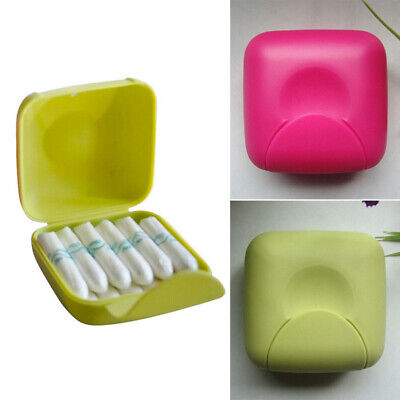 Women Small Bag Personal Sanitary Napkin Tampons Storage Holder Travel Case Box