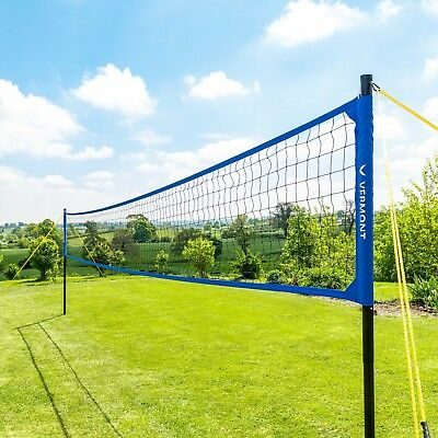 Vermont Portable Volleyball Set | Durable Net & Post System [Net World Sports]