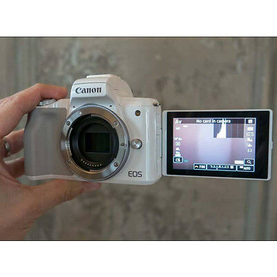 Canon EOS M50 Digital Camera White Body (Kit Box) Multi Stock in EU garant
