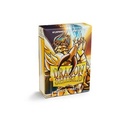 Dragon Shield Small Sleeves - Japanese Matte Gold (60 bustine)