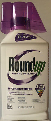 Roundup Super Concentrate - Makes 23 Gallons - 35.2-ounces - Worldwide Shipping!