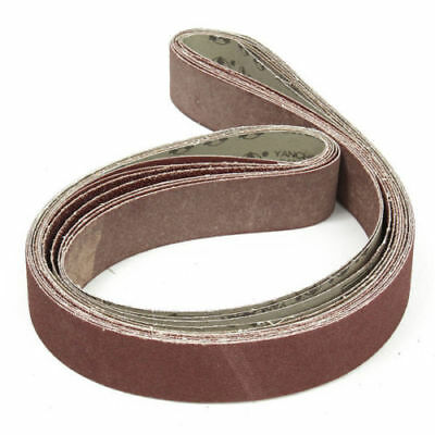 5x180cm Sanding Belt2''x72''  36~1000 Grit For Metal Wood Grinding Abrasive Tool