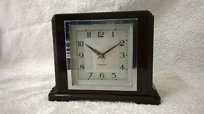 GENALEX BAKELITE 1940's  electric mantel clock