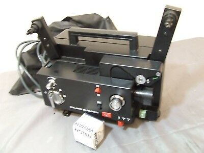 Elmo K100-Sm Film Projector Not Feed Film New Belts  Spare Lamp - K100Sm Movie