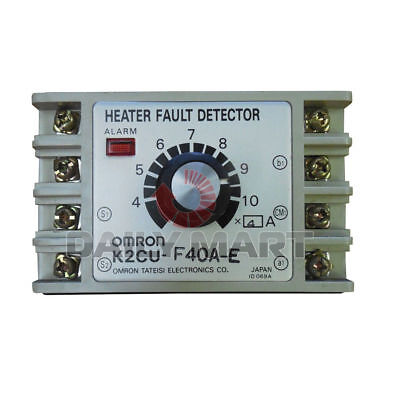 New Omron Automation & Safety K2CU-F40A-E Heater Fault Detector 220VAC Accurate