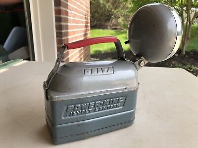 Vintage Delta Power King 12-Volt Lantern Flashlight USA Tested Works Great!!