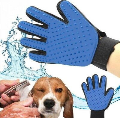 Pet Cleaning Brush Glove Dog Cat Grooming Hair Remover Massage Gentle Cleaner