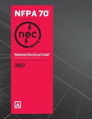 BRAND NEW! NEC - NFPA 70 2017: National Electrical Code (NEC) Paperback