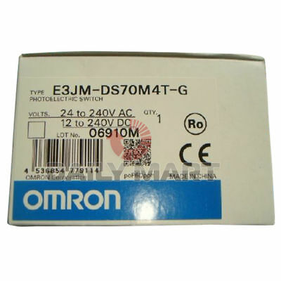 Omron Automation E3JM-DS70M4T-G 700mm Diffuse Reflective Photoelectric Switch