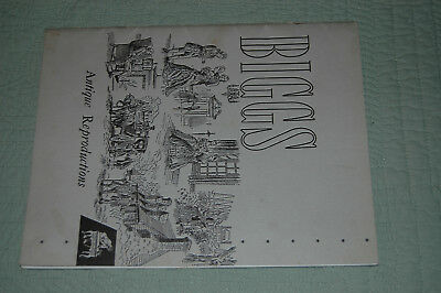 Vintage 1953 Biggs Authentic Colonial Reproductions Furniture Catalog-48 pages e