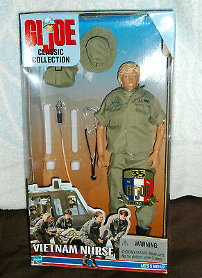 GI-Joe Vietnam Nurse Action Figur 1:6 blonde Haare