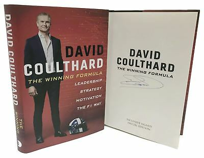 Signed Book - The Winning Formula The F1 Way by David Coulthard First Edtn 1st P