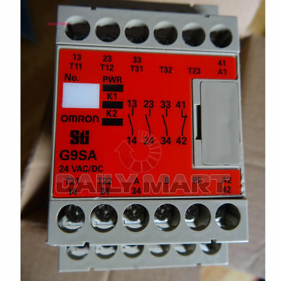 Omron G9Sa-301 Sti Plc Safety Relay Industrial Automation