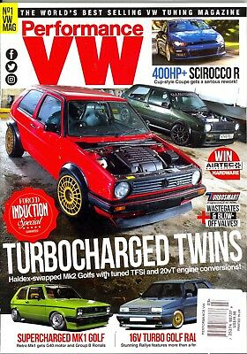 Performance VW March 2018 Volkswagen Tuning Magazine Forced Induction Special