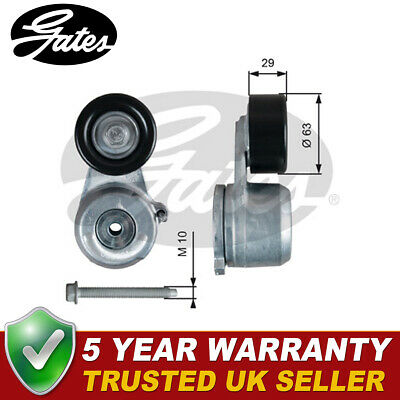 5 YEAR WARRANTY Gates V-Ribbed Belt Tensioner Pulley T38319 BRAND NEW