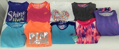 SKECHERS - Girls ACTIVE Athletic Short Sleeve SHIRTS Tops- Choose Color/Size-NEW
