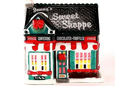1995 Coca Cola Town Square Jenny's Sweet Shoppe.  Lighted