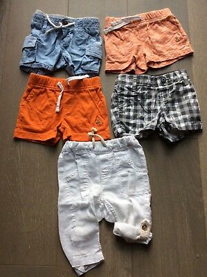 Lot of 5 Baby boys clothes size 3-6 months Baby Gap  H&M Very good condition