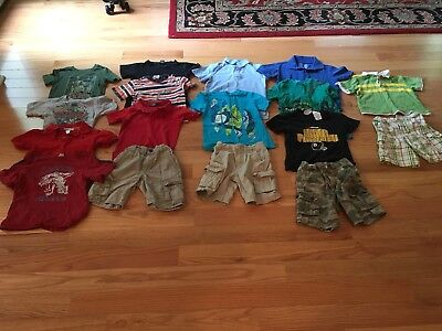 Lot Of Boys Summer Clothes Size 4T