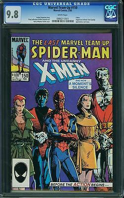 MARVEL TEAM-UP #150 CGC 9.8 White Pages