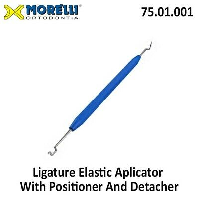 Morelli Dental Orthodontic Elastic Ligature Applicator Positioner And Detacher