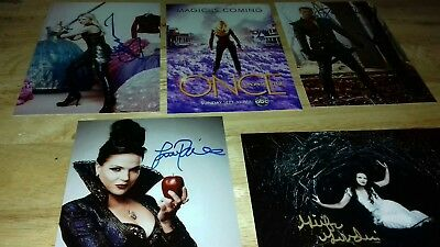 "Set Of 5 ONCE UPON A TIME     6"" x 4""  Photo Prints"